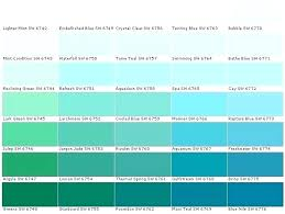 Sherwin Williams Green Color Chart Sherwin Williams Paint Color Chart Fenero Co