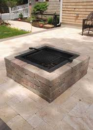 patio with square fire pit. Beautiful Fire Patio With Square Fire Pit Elegant Kit Modular Stone  Pits Cape Cod Inside With R