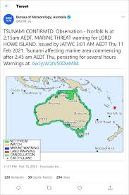 Meanwhile, australia's bureau of meteorology said there was a tsunami threat to offshore australian islands and territories. Ztblnutv2zwe5m