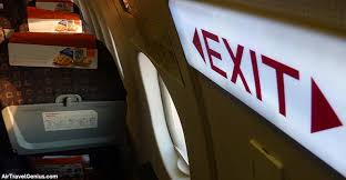 emergency exit row seat