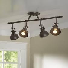 wall mounted track lighting. dollinger 4light semi flush mount wall mounted track lighting