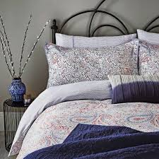 damara bedding paisley patterned duvet cover
