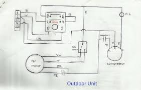 goodman ac unit wiring diagram releaseganji net rh outdoor thermostat