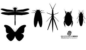 蝶 検索結果 シルエットデザイン