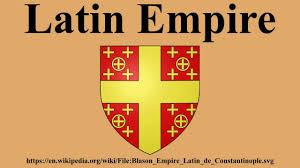 「1204  Latin Empire (Constantinople,」の画像検索結果