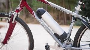 an electric bike bottle style battery