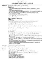 Resume For Photography Job Photo Assistant Resume Samples Velvet Jobs 23