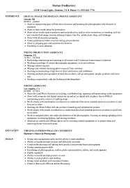 Photography Assistant Resume Photo Assistant Resume Samples Velvet Jobs 18