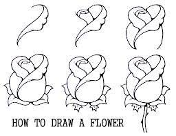 Small Picture Best 25 How to draw roses ideas on Pinterest Flowers to draw