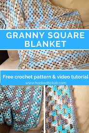 Continuous Granny Square Blanket Pattern