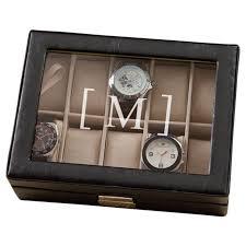 varick gallery sanford men s watch box reviews wayfair varick gallery reg sanford men s watch box
