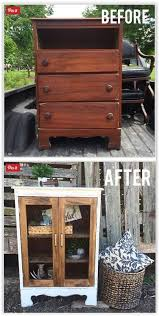 how to repurpose old furniture. Chest Of Drawers Before And After How To Repurpose Old Furniture