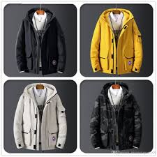 Mens Designer Padded Jacket 2019 Mens Designer Solid Parkas New Fashion Print Mens Winter Jacket Faux Fur Collar Casual Cotton Padded Jacket From Meimeisports88 122 84