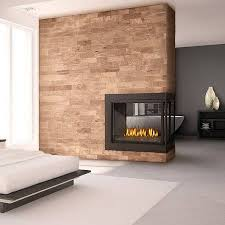 napoleon bhd4 ascent peninsula direct vent gas fireplace for elegant non vented fireplace
