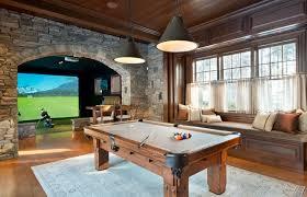 HD Golf Simulators traditional-family-room