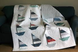 Sailboat Quilt Pattern Simple Inspiration