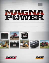 Magna Power Battery Chart Agriculture Construction Equipment Construction Equipment