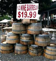 wine barrels home depot finding old vintage for great projects your see half barrel florida half wine barrel furniture oregon