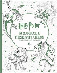 All The New Harry Potter Coloring