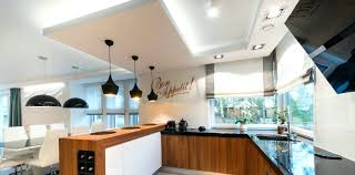 ambient lighting fixtures. Ambient Lighting Fixtures Modern Kitchen Interior Design In Black And White Style Lights High T