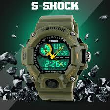 waterproof digital led alarm date mens wrist watch military sport waterproof digital led alarm date mens wrist watch