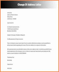Change Of Address Template Free Ideas Collection Write Letter Bank Manager Business Change Address