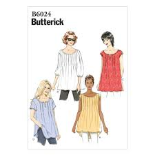 Mccall Patterns Interesting Butterick Misses' Top Pattern B48 Size 48Y48 Discount Designer