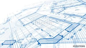 architecture design blueprint. Interesting Architecture Architecture Design Blueprint Plan  Illustration Of A Modern  Residential Building  Technology And Design Blueprint I