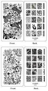 Buy Nail It Nail Us Ejiubas Double-side Nail Art Image Manicure ...