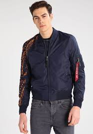 stylish er jacket jackets men s blue rep y1a7 by alpha industries