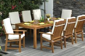 seymour 8 seater dining set with