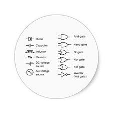 cheap lvdt circuit diagram lvdt circuit diagram deals on diagram of common electrical circuit elements classic round sticker