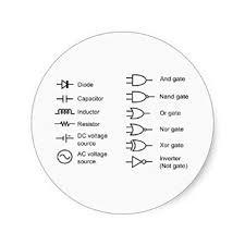 cheap lvdt circuit diagram lvdt circuit diagram deals on diagram of common electrical circuit elements classic round sticker