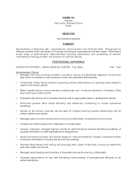 Best Photos Of Administrative Assistant Functional Resume
