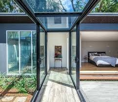 replacing sliding glass door with french door replacing sliding glass door with french doors modern hall