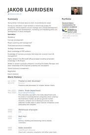 Plain Decoration Web Developer Resume Examples Freelance Web