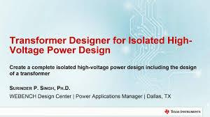 Transformer Bobbin Sizes Chart Pdf Transformer Designer For Isolated High Voltage Power Design