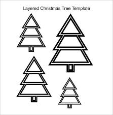 Christmas Tree Cutout Template 22 Christmas Tree Templates Free