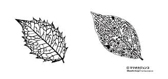 植物のシルエット素材 シルエットデザイン