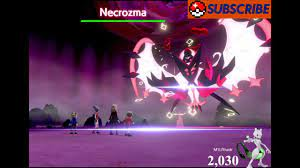 Pokemon Sword and Shield Ultra/Square Shiny Necrozma Lunala Raids Lets  Catch Some Pokemon! - YouTube