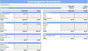 Church Budget Template Excel Church Event Budget Template