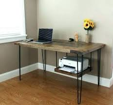 office desk with storage. Modern Desk With Storage Under Printer Stand Wood Large Image For Gorgeous Office 2
