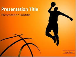 Basketball Powerpoint Template Need Free Powerpoint Template For Your Basketball Presentation We