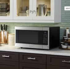 zeb1226shss ge monogram 2 2 cu ft countertop microwave oven stainless steel