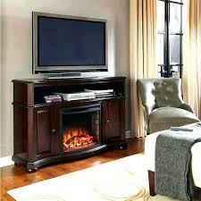 electric fireplace media console costco bo