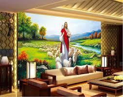 Christian Prayer Wall Designs Custom Photo Silk Wallpaper 3d Of Wallpaper Living Prayer