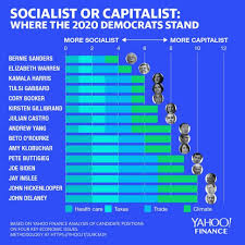Democratic Candidate Comparison Chart Here Are The Most Socialistic And Most Capitalistic Democrats Running For President