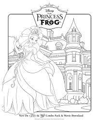 Princess Grenouille 5 Coloriage La Princesse Et La Grenouille
