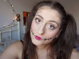 cute and creepy doll makeup for beauty lifestyle ramblings with nicholle