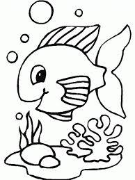 Small Picture Rainbow Fish Crawfish And Small Fish Coloring Page Free Coloring